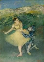 Arlequin et Colombine (Degas Edgar) - Muzeo.com
