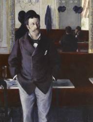 Au café (Gustave Caillebotte) - Muzeo.com