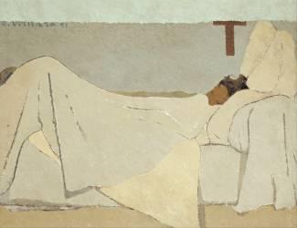 Au lit (Vuillard Edouard) - Muzeo.com