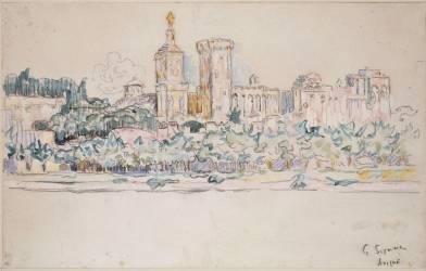 Avignon (Signac Paul) - Muzeo.com