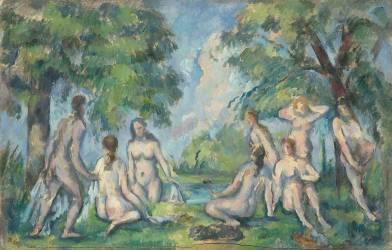 Baigneuses (Paul Cézanne) - Muzeo.com