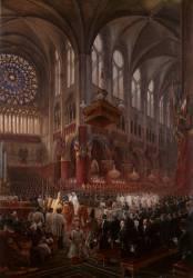 Baptême de Son Altesse Royale de Monseigneur le comte de Paris (le 2 mai 1841) (Viollet-Le-Duc Eugène) - Muzeo.com