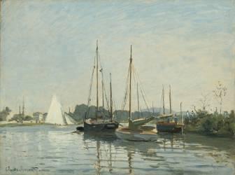 Bateaux de plaisance, Argenteuil (Monet Claude) - Muzeo.com
