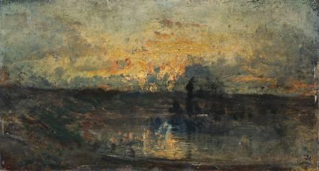 Boucle de rivière (Ziem Félix) - Muzeo.com