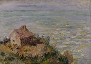 Cabane des douaniers, effet d'après-midi (Monet Claude) - Muzeo.com