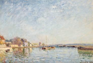 Canal du Loing (Sisley Alfred) - Muzeo.com