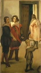 Cavaliers espagnols (Manet Edouard) - Muzeo.com