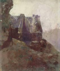 Chaumière bretonne (Redon Odilon) - Muzeo.com
