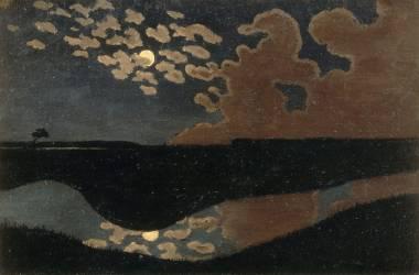 Clair de lune (Vallotton Félix) - Muzeo.com