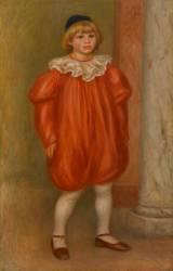 Claude Renoir en clown (Renoir Auguste) - Muzeo.com
