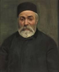 Concierge ou portrait d'un homme à barbe grise (Vallotton Félix) - Muzeo.com