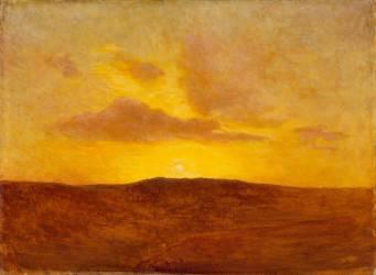 Coucher de soleil (Ziem Félix) - Muzeo.com