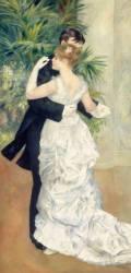 Dance in Town (Renoir Auguste) - Muzeo.com
