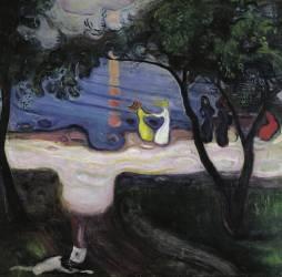 Dance on the beach (Munch Edvard) - Muzeo.com