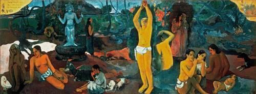 D'ou venons-nous? Que sommes-nous? Ou allons nous ? (Gauguin Paul) - Muzeo.com