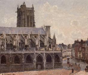 Eglise Saint-Jacques à Dieppe (Pissarro Camille) - Muzeo.com