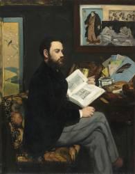 Emile Zola (1840-1902), écrivain (Manet Edouard) - Muzeo.com