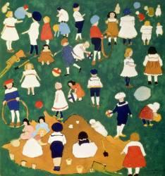 Enfants (Malevitch Kazimir) - Muzeo.com