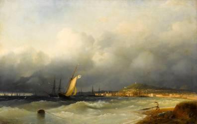Entrée de port (Aivazovsky Ivan) - Muzeo.com