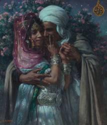 Abd-el-Ain Gheram and Nouriel (Arabic legend): Love slave (Dinet Etienne) - Muzeo.com
