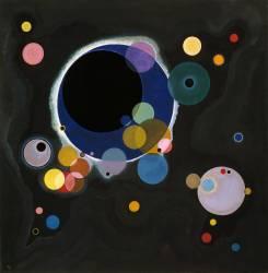 Sketch for Several Circles (Wassily Kandinsky) - Muzeo.com