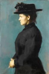 Eugénie Henner, nièce de l'artiste (Henner Jean Jacques) - Muzeo.com