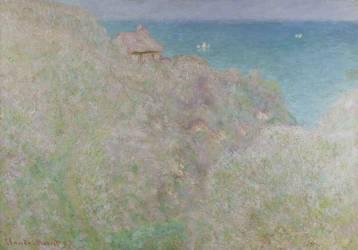Falaise à Varengeville (Gorge du Petit Ailly) (Monet Claude) - Muzeo.com