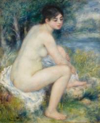 Femme nue dans un paysage (Renoir Auguste) - Muzeo.com