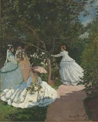 Femmes au jardin, à Ville d'Avray (Monet Claude) - Muzeo.com