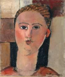 Fille rousse (Modigliani Amedeo) - Muzeo.com