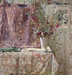Flowers (Vuillard Edouard) - Muzeo.com