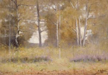 Fontainebleau's forest (Osbert Alphonse) - Muzeo.com