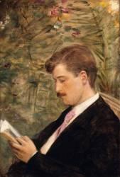 Georges Feydeau (1882-1921) lisant (Carolus-Duran) - Muzeo.com