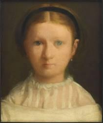 Giovanna Bellelli (née en 1848) dite Nini, cousine de l'artiste (Degas Edgar) - Muzeo.com