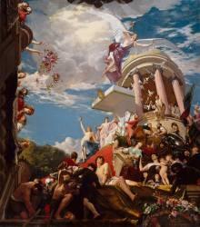 Gloriae Mariae Medicis, dit Le triomphe de Marie de Médicis (Carolus-Duran) - Muzeo.com