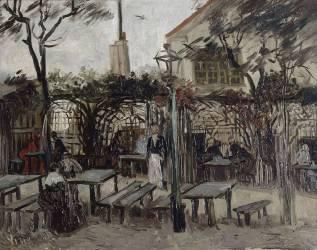 Guinguette in Montmartre :