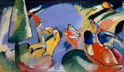 Improvisation XIV (Kandinsky Wassily) - Muzeo.com
