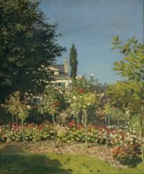 Jardins en fleurs (Monet Claude) - Muzeo.com