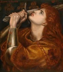 Joan of Arc (Rossetti Dante Gabriel) - Muzeo.com