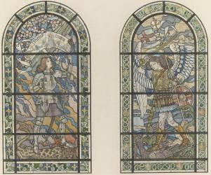 Jeanne d'Arc et saint Michel (Grasset Eugène) - Muzeo.com