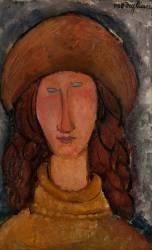 Jeanne Hébuterne (Amedeo Modigliani) - Muzeo.com