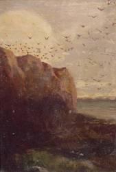 La Baie des Trépassés (Finistère) (Odilon Redon) - Muzeo.com