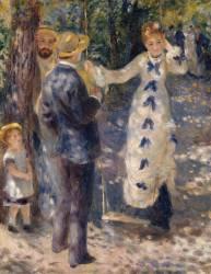 La balançoire (Renoir Auguste) - Muzeo.com