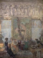 La bibliothèque (Vuillard Edouard) - Muzeo.com
