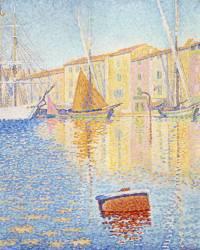 La Bouée rouge, Saint-Tropez (Paul Signac) - Muzeo.com