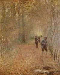 The hunt (Claude Monet) - Muzeo.com