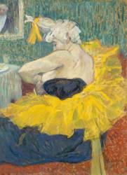 La clownesse Cha-U-KO, artiste au Moulin rouge (Toulouse-Lautrec Henri de) - Muzeo.com