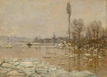 La Débâcle à Vétheuil (Monet Claude) - Muzeo.com