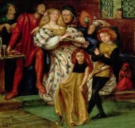 The Borgia Family (Rossetti Dante Gabriel) - Muzeo.com