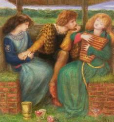 The Merciless Lady (Rossetti Dante Gabriel) - Muzeo.com